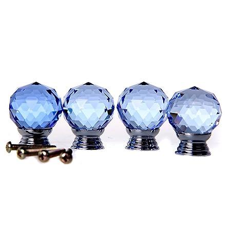 door knobs beiyi 4 x crystal acrylic glass diamond cut door knobs