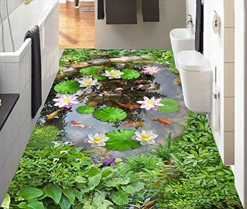 HOMEE 3D Innovation Carpet Living Room Sofa Tables Bedroom Rug and Bathroom Kitchen Carpet,Dark Gray,4060Cm by HOMEE
