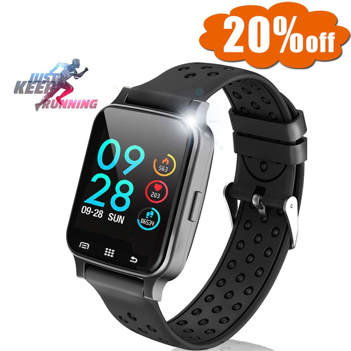 """1.54"""" Smartwatch July 15 & 16 Deals Sport Fitness"""