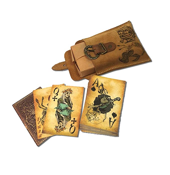 Eviltailors - Sirena Muerta - Baraja Cartas Póker Originales Diseño Pirata