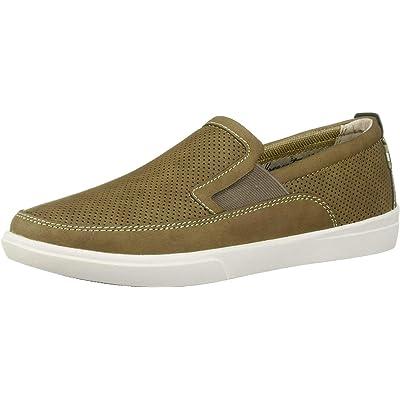 Margaritaville Men's Upbrush Leather Slip on Shoe Loafer | Loafers & Slip-Ons
