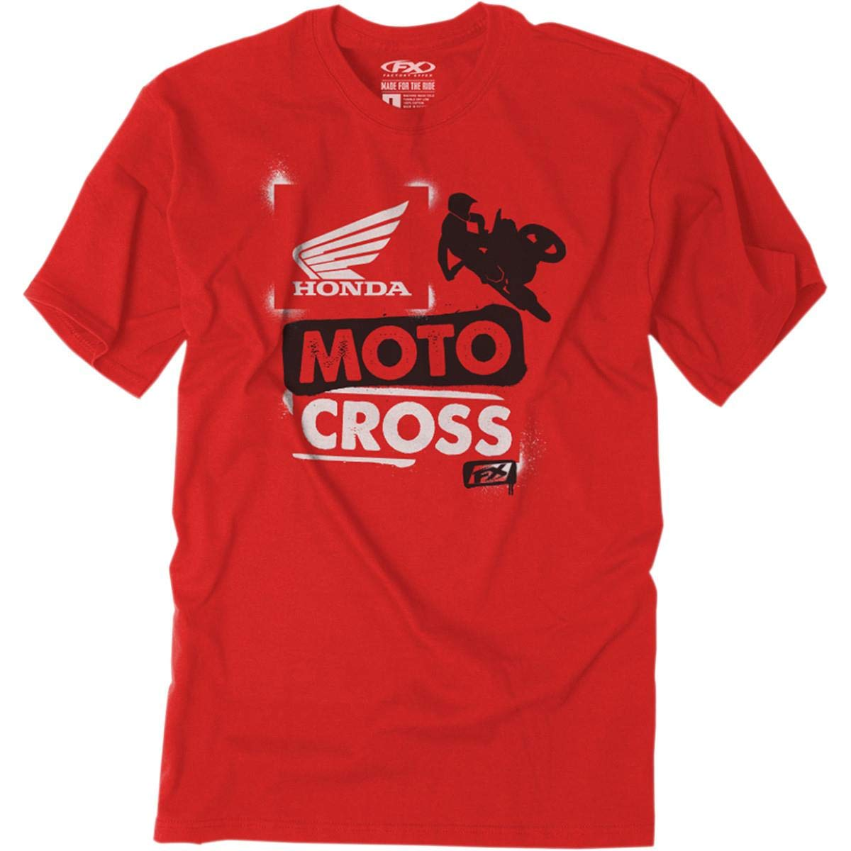 Factory Effex Unisex-Child Honda Paint Youth T-Shirt (Red, X-Large) by Factory Effex