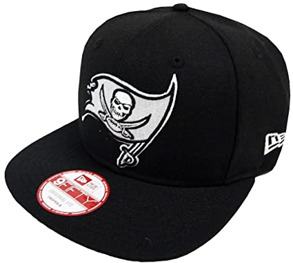Image Unavailable. Image not available for. Color  New Era NFL Tampa Bay  Buccaneers Black White Snapback Cap ... ef0563d42
