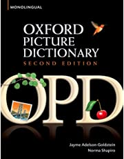 Oxford Picture Dictionary Second Edition: Oxford Picture Dictionary Monolingual