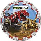 Dinotrux 9 Inch Dessert Plates [8 per Pack]