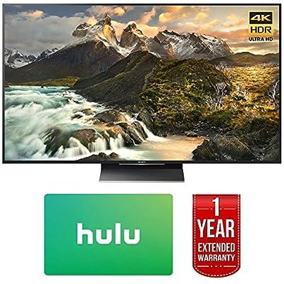 Sony XBR-65Z9D 65-inch 4K Ultra HD LED TV w/Hulu $100 Gift Card + 1 Year Extended Warranty