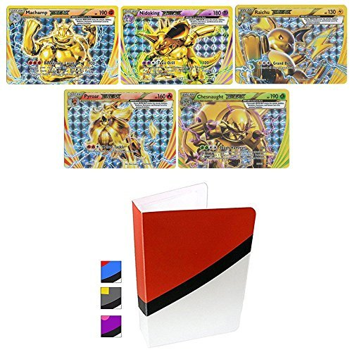 5 Break Pokemon Cards and Totem Mini -