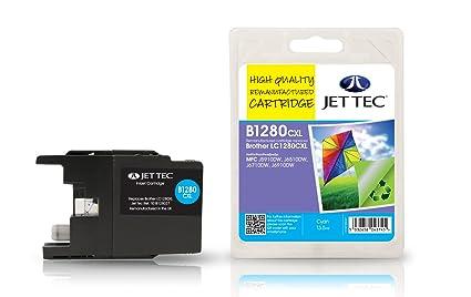 JET TEC - JET TEC encre pour brother MFC-J5910DW, cyan: Amazon.es ...