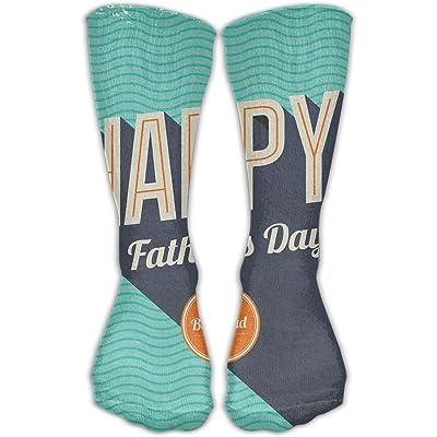 YUANSHAN Socks Best Dad Women & Men Socks Soccer Sock Sport Tube Stockings Length 11.8Inch