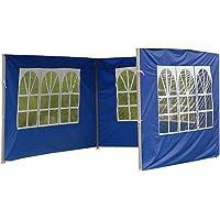 Carpa para jardín con panel lateral para lluvia y viento, accesorios para carpas al aire libre, resistente a los rayos…