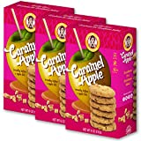 Goodie Girl Cookies Caramel Apple, Gluten Free and Peanut Free Delicious Snack Cookies (6oz Box, Pack of 3)