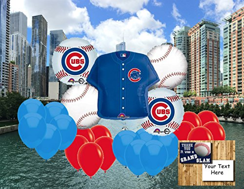 Chicago Cubs 25 piece Balloon Set ()