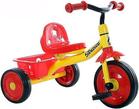 SONG Sillas de paseo Bicicletas for niños bicicleta de tres ruedas ...
