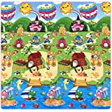 Large Double-Sided Baby Play Mat Portable Outside Picnic Carpet Waterproof