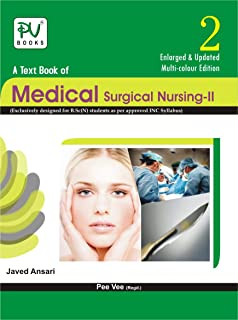 Buy Pv Textbook Of Medical Surgical Nursing Ii B Sc N 3rd Year Book