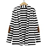 Sinma Clearance Women Fashion Striped Patchwork