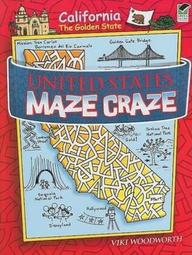 United States Maze Craze (Dover Children's Activity