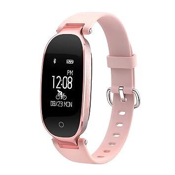 ACMEDE® Bracelet Intelligent Femme S3 Tracker dactivité Avec Cardiofréquencemètre Podomètre Calories Sommeil -