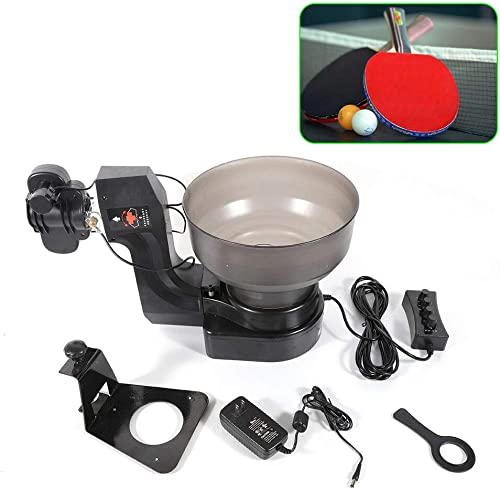 Table Tennis Robot HP-07 Ping Pong Robot Ball Machine Automatic Tennis-Ball-Machine w 36 Different Spin Ball