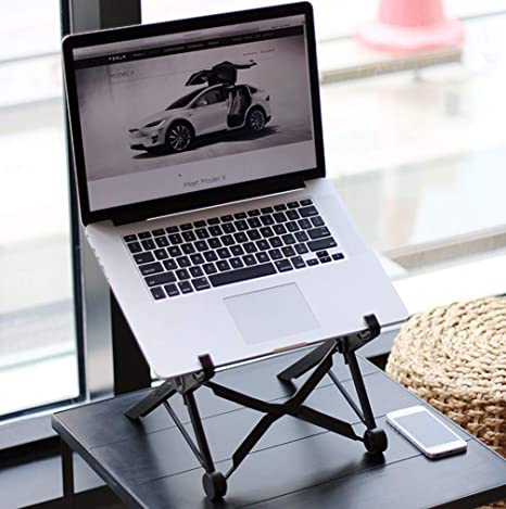 Laptop Stand Aluminum Cooling Desk Stand Phone PC Tablet Holder for MacBook