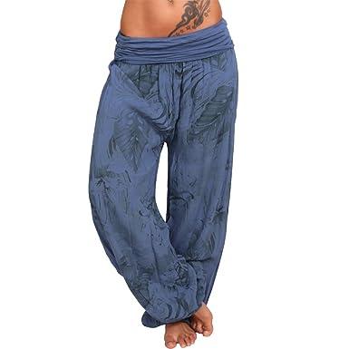 Pumphose Haremshose Alibaba Hose leichte Sommerhose Pluderhose (34 36 38 40  XS S M L, Blau)  Amazon.de  Bekleidung 26fe59b688