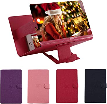 FGDQTIA Plegable Pantalla Amplificador Smartphone 8 Aumentador ...
