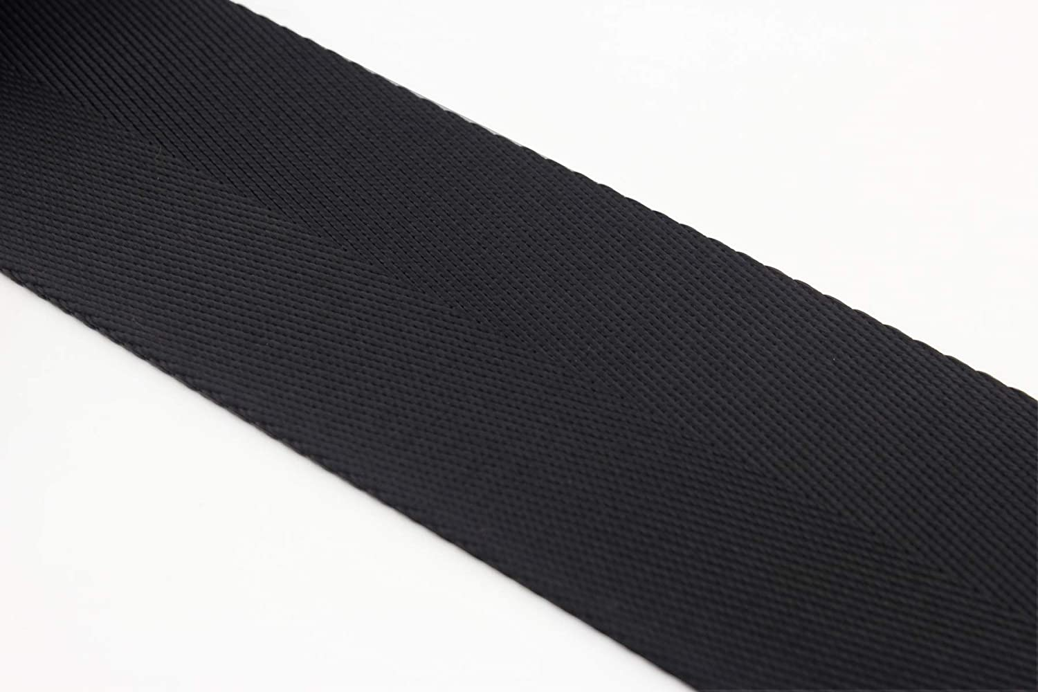 3DANCraftit 2 inch heavy weight Nylon webbing 5 yards Black ZD71 50mm