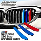 5-Layer Painted M-Color Grille Insert Trims For BMW G30 G31...