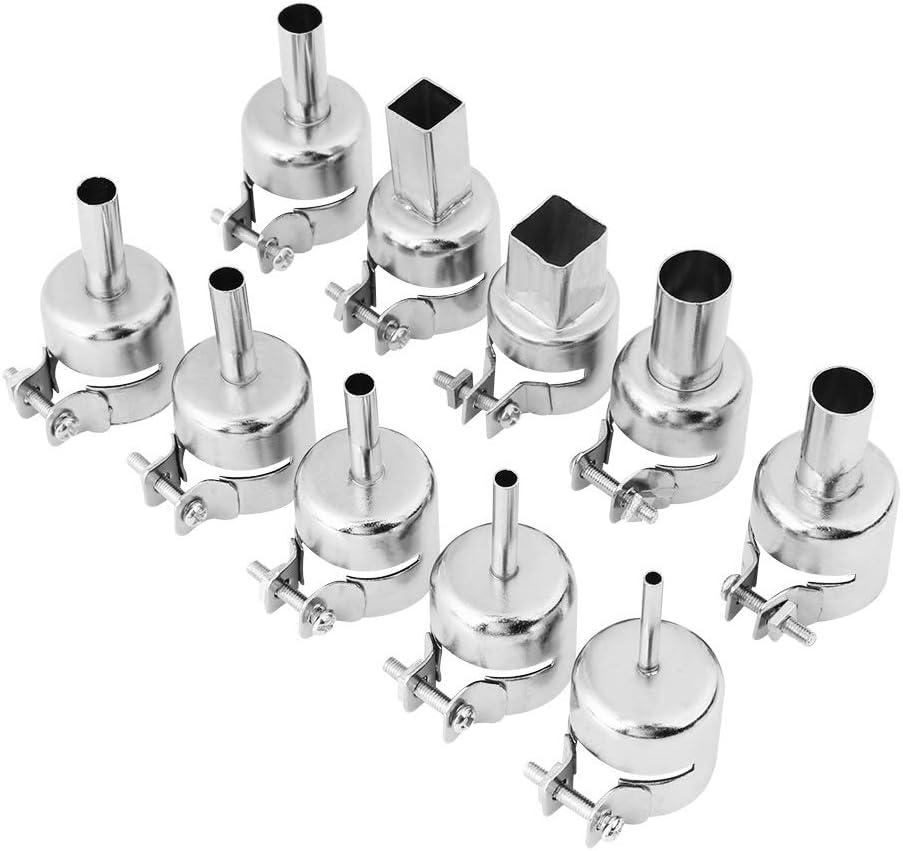 Kits de becs de pistolet /à air chaud pour pistolet /à air chaud pour outils de r/éparation de station de soudage /à air chaud