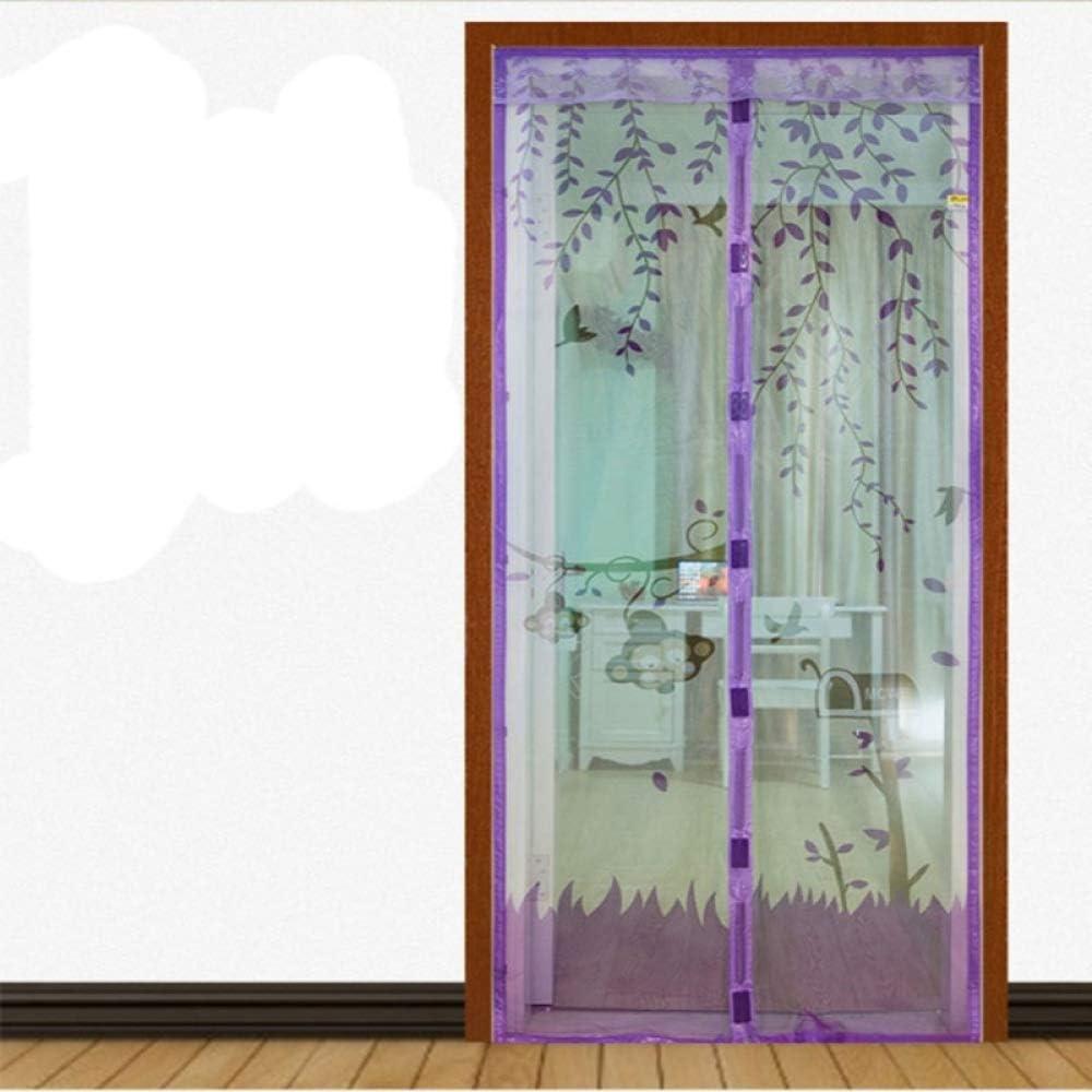 Diseño Fresco De Verano Puerta De Pantalla Magnética Anti-Mosquito Tul De Puerta Automática Red Verde 90 * 210 Cm: Amazon.es: Bricolaje y herramientas