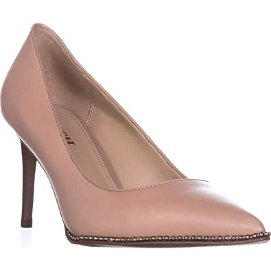 ff7126219f2 Coach Womens Vonna Leather Pointed Toe Classic Pumps