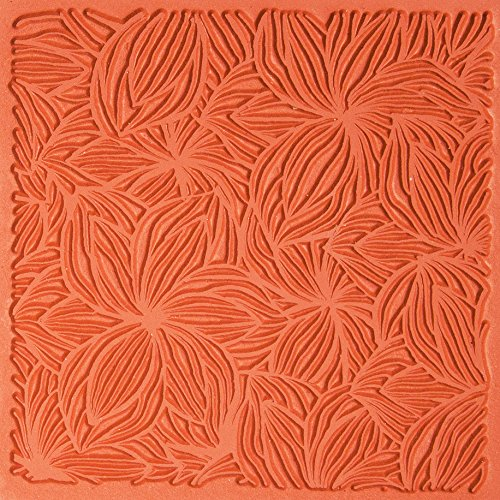 Jewelry Artist Supply Bloom Texture Mat 3'' X 3'' by Creative Shapes
