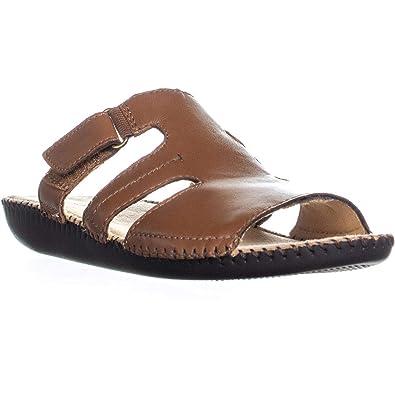 9db74ab513e3 Naturalizer Women s Serene Tan Leather Sandal
