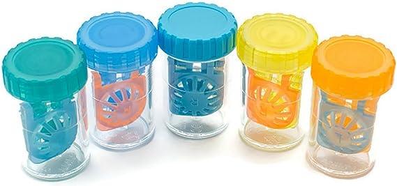 Sport Visión 10 Estuches Coloridos para lentillas: Amazon.es: Salud y cuidado personal