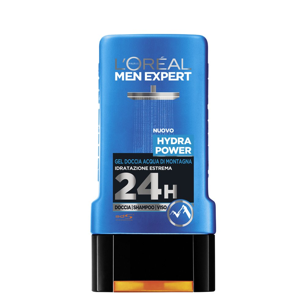 L'Oréal Paris Men Expert Mountain Water Gel , Hydra Power , 300 ml / 10.1oz L' Oréal Paris