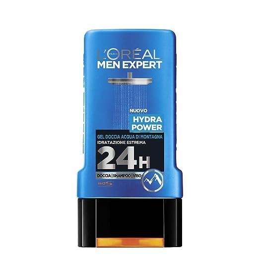 47 opinioni per L'Oréal Paris Men Expert Hydra Power Gel Doccia Uomo, Acqua di Montagna