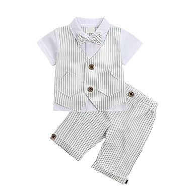 Amazon.com: Traje de ropa de bebé para niños, traje de ...