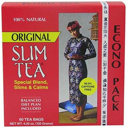 Hobe Laboratories Slim Tea - Original, 60-Count Tea Bags