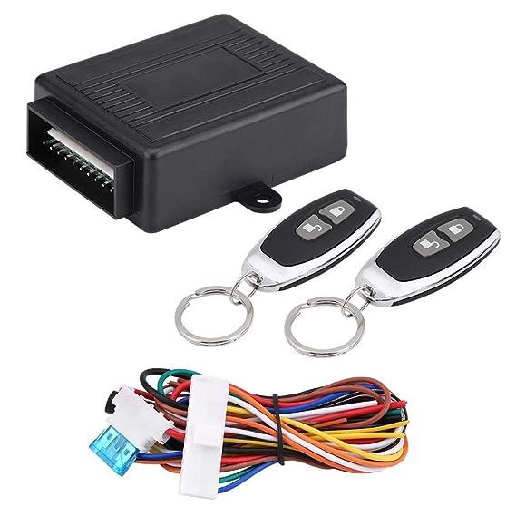 Auto Zentralverriegelung, Auto Funkfernbedienung Universal Auto Türschloss Keyless Entry System Zentralverriegelung Fernbedie
