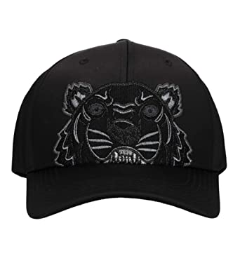 4d4692ca6f5 Kenzo Limited Edition  Holiday Capsule  Satin Tiger Black Cap One Size   Amazon.co.uk  Clothing
