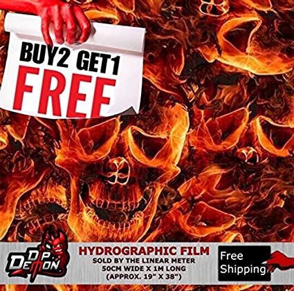 Amazoncom Lm Wild Burning Flaming Red Skulls Flames Fire