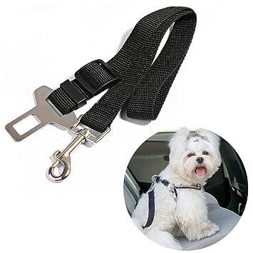 UNHO Cinturón de Seguridad de Coche para Perros Arnés Ajustable ...