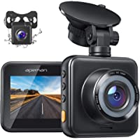 $42 » APEMAN Dual Dash Cam for Cars Front and Rear with Night Vision 1080P FHD Mini in Car…