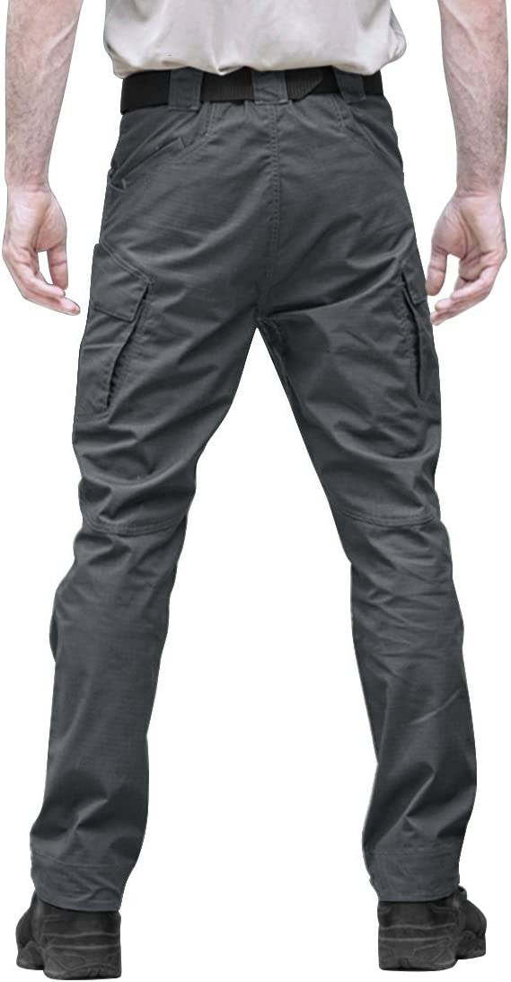 Hombre Pantalones De Senderismo Para Hombre Varios Bolsillos Tacvasen Algodon Deportes Y Aire Libre Ak Oz Com
