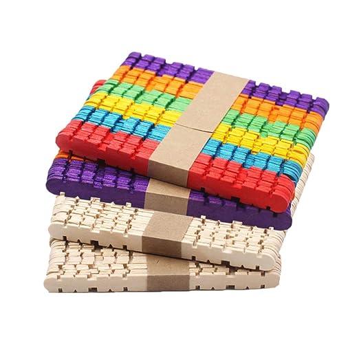 Healifty 200 piezas depresores de lengüeta de madera palos ...