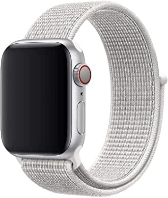 Nylone bnd for apple watch 44mm white color