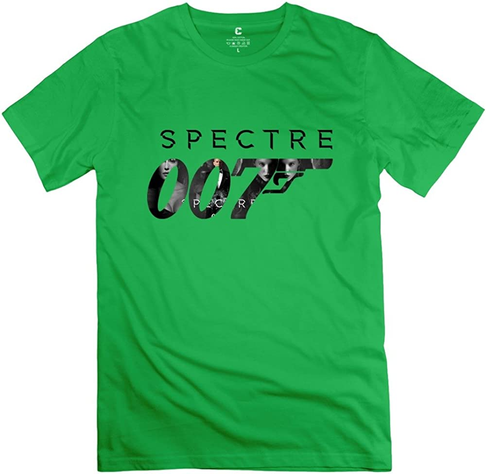 MAM2 Arts Fashion Spectre 007 Bond Revolver Men's Tee DeepHeather