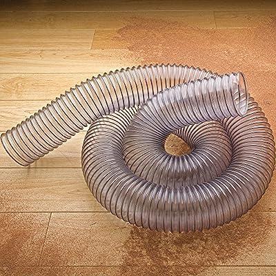 "Clear Flexible Hose - 10 Feet Long 4"" Diameter"