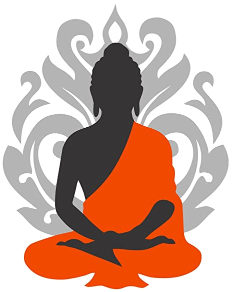 00dbb83d30a Buy Asmi Collections Wall Stickers Beautiful God Buddha Online at Low Prices  in India - Amazon.in