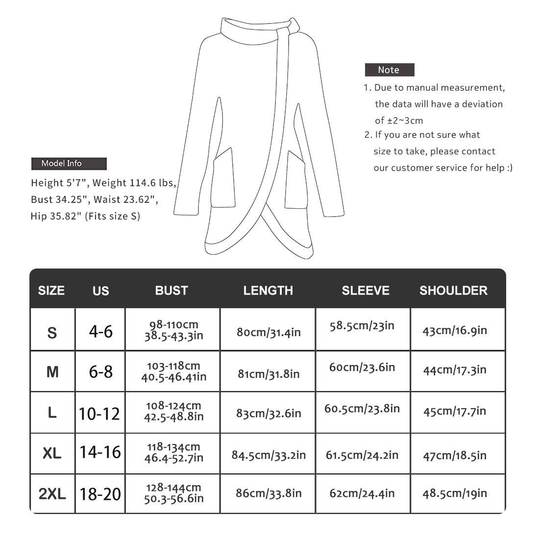 Belgius Womens Long Sleeve Stripe Sweatshirt Cowl Neck Asymmetry Tunic Pullover Tops